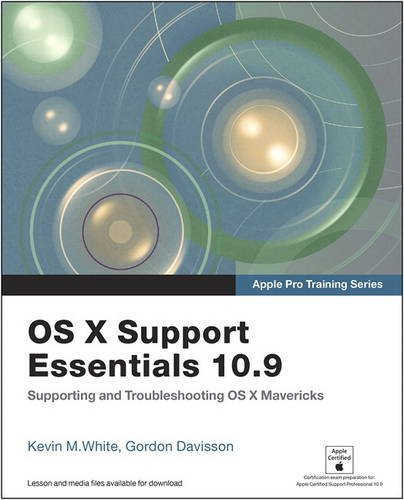 9780133574081: Apple Pro Training Series: OS X Support Essentials 10.9: Supporting and Troubleshooting OS X Mavericks, Access Card