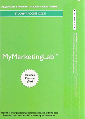 9780133575958: 2014 MyMarketingLab with Pearson eText - Access Card - for Advertising