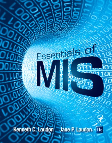 9780133576849: Essentials of MIS (11th Edition)