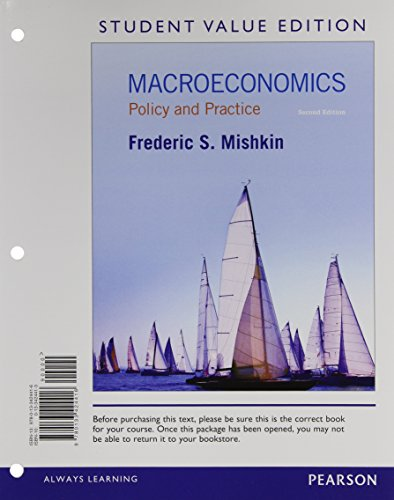 9780133577921: Macroeconomics: Policy and Practice, Student Value Edition Plus NEW MyLab Economics with Pearson eText -- Access Card Package (2nd Edition)