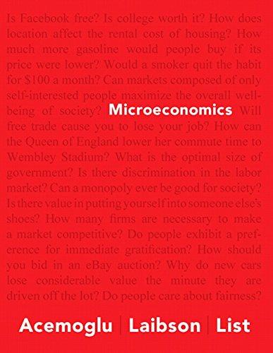 Microeconomics Plus NEW MyEconLab with Pearson EText: Acemoglu, Daron