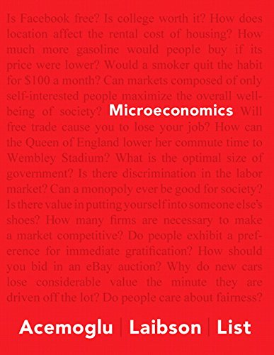 9780133578034: Microeconomics Plus NEW MyEconLab with Pearson eText -- Access Card Package (Acemoglu, Laibson & List, The Economics Series)