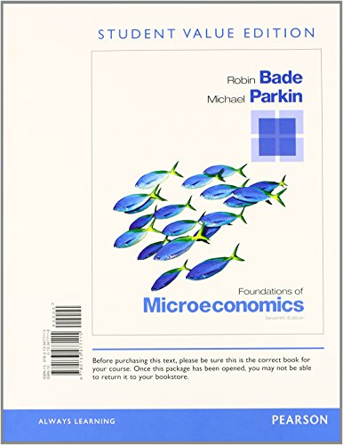 9780133578201: Foundations of Microeconomics, Student Value Edition Plus NEW MyEconLab with Pearson eText -- Access Card Package (7th Edition)