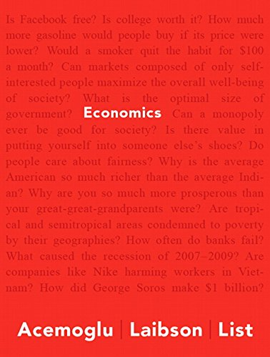 9780133578263: Economics Plus NEW MyLab Economics with Pearson eText -- Access Card Package (Acemoglu, Laibson & List, The Economics Series)