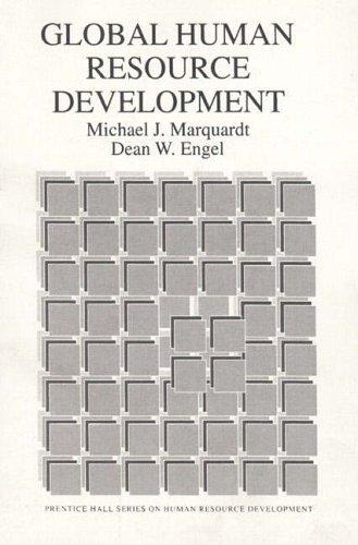 9780133579307: Global Human Resource Development (Prentice Hall Series on Human Resource Development)