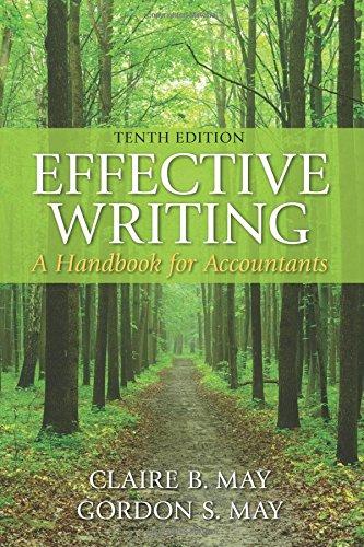 9780133579499: Effective Writing: A Handbook for Accountants