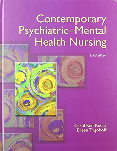 9780133581607: Contemporary Psychiatric-Mental Health Nursing with DSM-5 Transition Guide (3rd Edition)