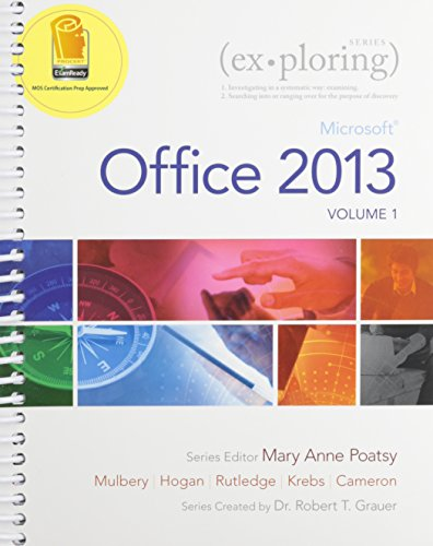 9780133584271: Exploring Microsoft Office 2013, Volume 1 & MyITLab with Pearson eText -- Access Card -- for Exploring with Office 2013 Package
