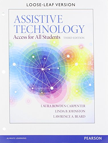 9780133585230: Assistive Technology:Access for All Students, Pearson eText -- Access Card