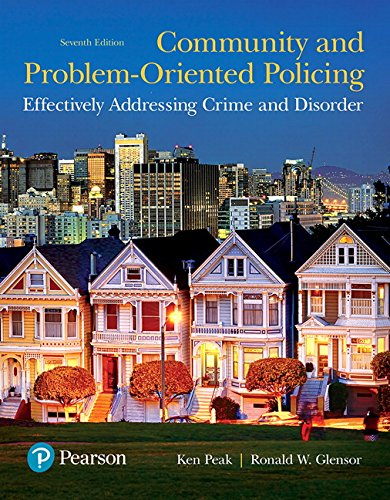 9780133590104: Community and Problem-Oriented Policing: Effectively Addressing Crime and Disorder (7th Edition)