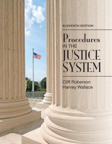 9780133591170: Procedures in the Justice System (11th Edition)
