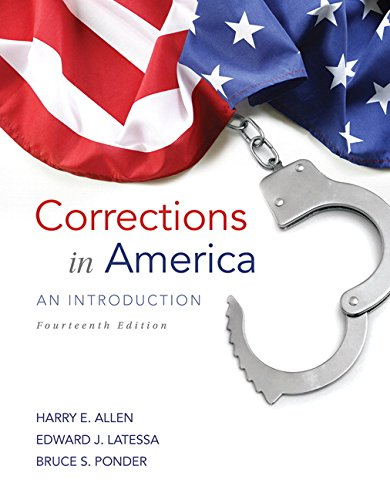 9780133591217: Corrections in America: An Introduction (14th Edition)