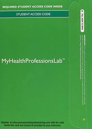 9780133591408: MyHealthProfessionsLab without Pearson eText -- Access Card -- for Pharmacy Technician: Foundations and Practice