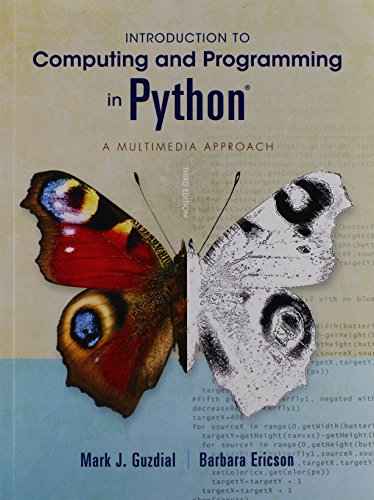 9780133591521: Introduction to Computing and Programming in Python Plus Myprogramming Lab Without Pearson Etext -- Access Card Package