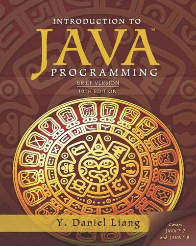 9780133592207: Introduction to Java Programming: Brief Version, 10th Edition