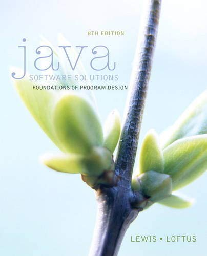 9780133594959: Java Software Solutions (8th Edition)