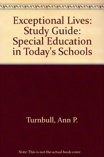 9780133599770: Exceptional Lives: Study Guide: Special Education in Today's Schools