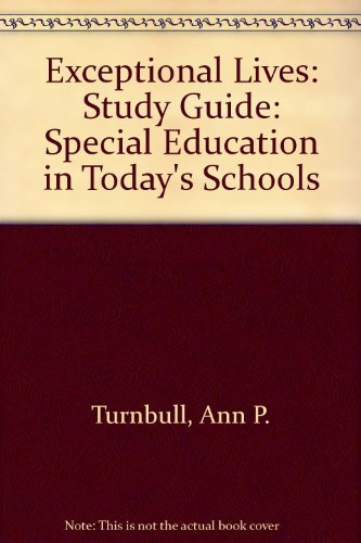 9780133599770: Exceptional Lives, Study Guide to Accompany
