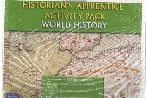 9780133600186: HISTORY OF OUR WORLD HISTORIAN'S APPRENTICE ACTIVITY PACK