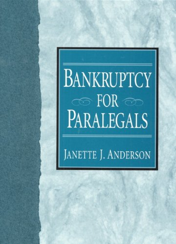 9780133600582: Bankruptcy for Paralegals