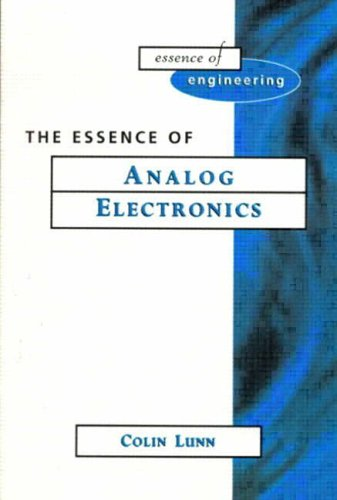 9780133602234: Essence Analog Electronics (Prentice-Hall Essence of Engineering)