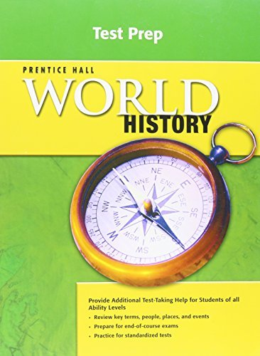 9780133603231: Prentice Hall World History Tennessee Test Prep