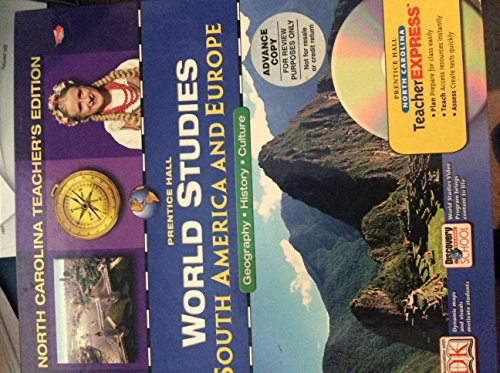 PRENTICE HALL WORLD STUDIES SOUTH AMERICA AND: n/a
