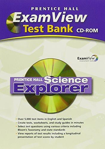 9780133607048: SCIENCE EXPLORER EXAMVIEW COMPUTER TEST BANK 2005C/2007C/2009C
