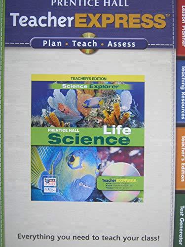 9780133607055: Prentice Hall Science Explorer Life Science Teacher Express CD-Rom Set (2-CDs)