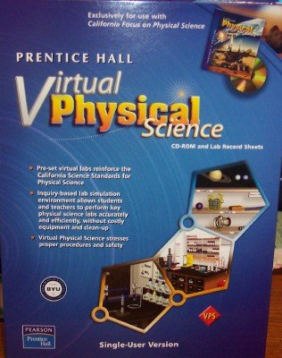 9780133608557: CA FOCUS ON PHYSICAL SCIENCE VIRTUAL PHYSICAL SINGLE USER