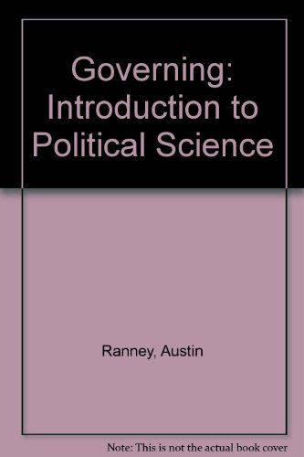 9780133610499: Governing: An Introduction to Political Science