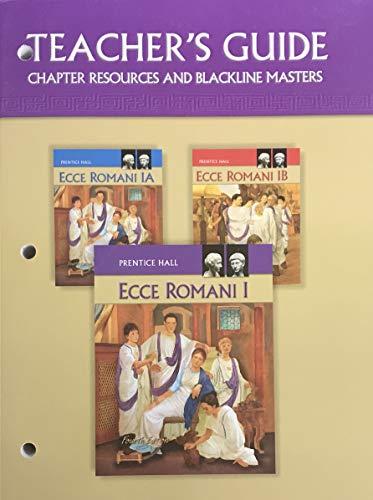 9780133610949: Ecce Romani I Teacher's Guide (Fourth Edition)