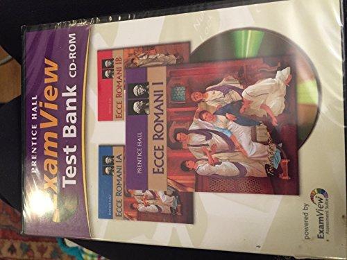 Ecce Romani Level 1 Examview CD: Prentice Hall