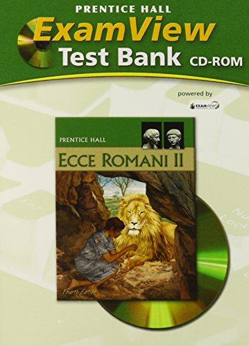 9780133611038: ECCE ROMANI 09 LEVEL 2 EXAMVIEW CTB