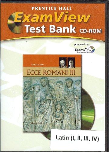 9780133611045: ECCE ROMANI 09 LEVEL 3 EXAMVIEW CTB