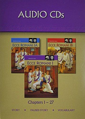 9780133611090: ECCE ROMANI 09 LEVEL 1 AUDIO CD