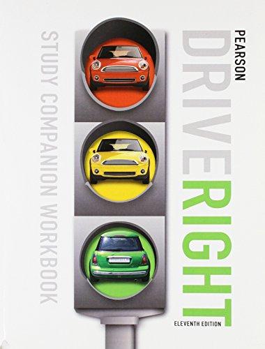9780133612653: PRENTICE HALL DRIVE RIGHT STUDY COMPANION STUDENT WORKBOOK EDITION C2010