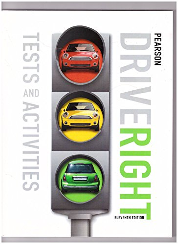 9780133612660: Drive Right Tests and Activities Eleventh Edition