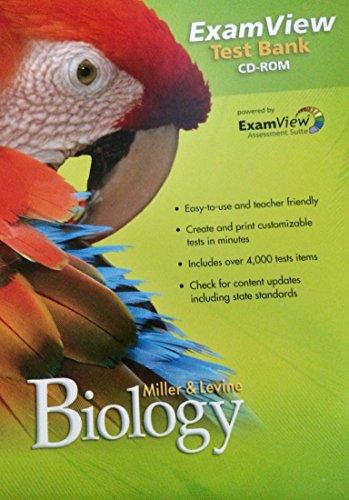 9780133614688: Miller & Levine Biology ExamView Test Bank Cd-rom