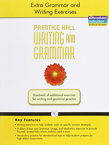 9780133616255: Writing and Grammar: Extra Grammar and Writing Exercise, Grade 6