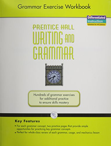 9780133616965: WRITING AND GRAMMAR EXERCISE WORKBOOK 2008 GR12