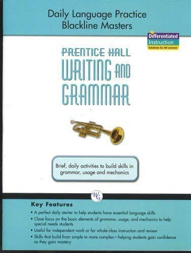 9780133617146: WRIRING AND GRAMMAR DAILY LANGUAGE PRACTICE 2008 GR9
