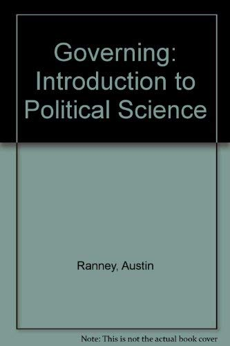 9780133618334: Governing: Introduction to Political Science