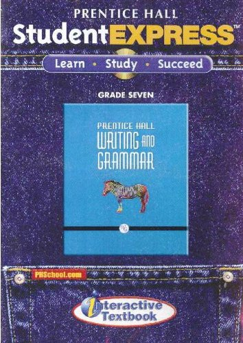 9780133619041: PRENTICE HALL WRITING AND GRAMMAR STUDENT EXPRESS CD GRADES 7 2008C
