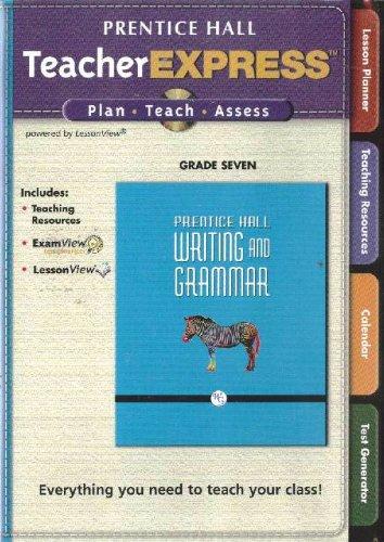 9780133619058: Prentice Hall, TeacherExpress Writing And Grammar Grade 7 (CD-ROM)