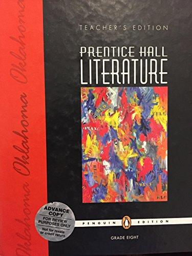 Prentice Hall Literature Grade 8 Teacher's Edition - Penguin Edition - Oklahoma: Chang, Lan ...