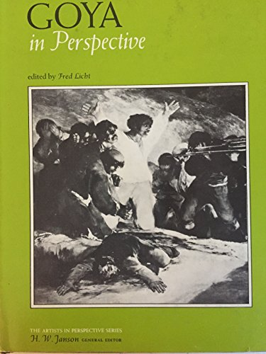 9780133619645: Goya: in Perspective (The Artists in perspective series)