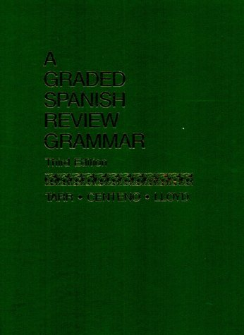 9780133621464: A Graded Spanish Review Grammar (3rd Edition) (English and Spanish Edition)