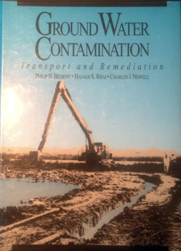 9780133625929: Groundwater Contamination: Transport and Remediation