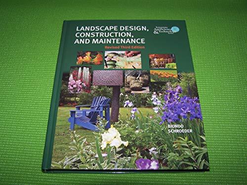 """9780133626384: """"Landscape Design, Construction & Maintenance"""""""
